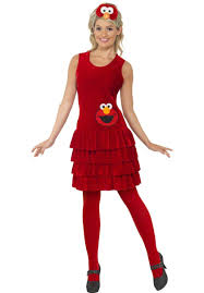 elmo halloween party elmo dress costume sesame street fancy dress escapade uk