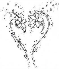 open heart design tattoo tattoos book