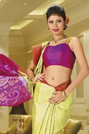buy pista green handloom silk saree with multi colour zari weaved