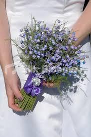 wedding flowers glasgow shop gorgeous artificial lilac blue bluebell brides wedding