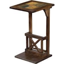 sofa c table c table rustic end u0026 side tables you u0027ll love wayfair