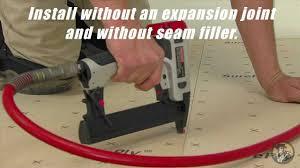 Laminate Flooring Underlay Installation Underlayment Installation Video Youtube
