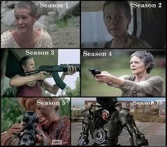 Walking Dead Meme Season 1 - like share if carol is your favorite character on the walking dead