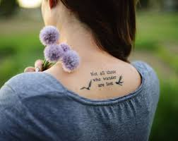 the 25 best back quote tattoos ideas on rib quote