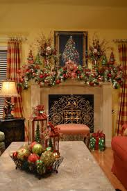 top christmas decorating ideas fireplace mantel interior design