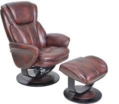 Leather Chair With Ottoman Barcalounger Roma Ii Recliner Chair And Ottoman Leather Recliner