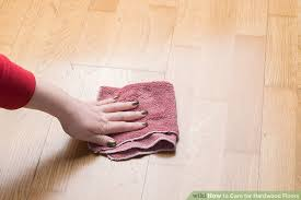 hardwood floor care 3 ways to care for hardwood floors wikihow