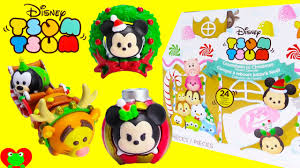 christmas advent calendar 24 tsum tsum surprises christmas advent calendar