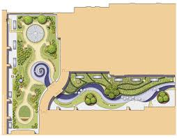 Landscape Floor Plan by Roof Plan Chinese Garden Landscape Architecture Landscape Design