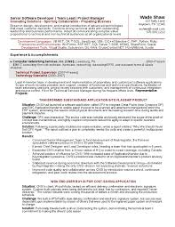 Team Leader Sample Resume by 11 Executive Resume Fascinating Sap Team Lead Resume 61 For Your