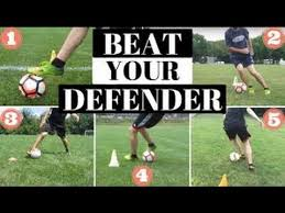 5 easy soccer moves to get around your defender youtube