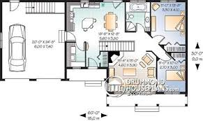 two bedroom ranch house plans craftsman with ranch feel drummond house plans