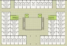 upper ground floor plan rachana shri commercials