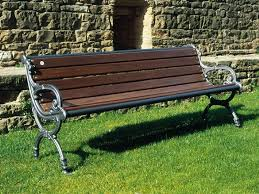 panchine da giardino in ghisa 104 panchina con braccioli per parchi e giardini da