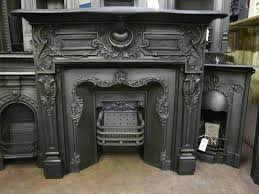 Victorian Cast Iron Bedroom Fireplace Antique Metal Fireplace Surround Fireplace Pinterest Antique