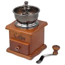 Antique Electric Coffee Grinder Amazon Com Realegend Wooden Manual Coffee Grinder Vintage Style