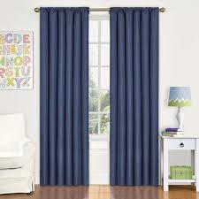 Amazoncom Eclipse Kids Kendall Blackout Thermal Curtain Panel - Room darkening curtains for kids