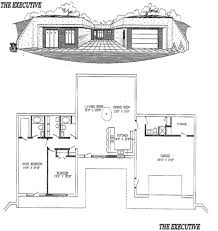 earth sheltered home plans earth sheltered homes the executive plans dream house