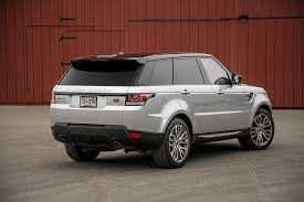 land rover rear 2014 land rover range rover sport supercharged rear three quarters