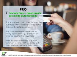 Credit Card Processing Fees For Small Businesses 10 Pros U0026 Cons Of Merchant Cash Advances For Small Businesses