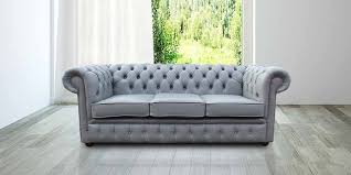 grey chesterfield sofa iron grey chesterfield 3 seater sofa settee designersofas4u
