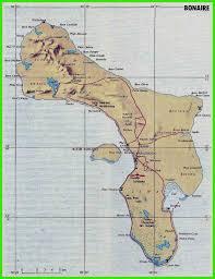 Bonaire Map Encyclopedie Van De Nederlandse Antillen