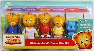 daniel tiger s neighborhood family figure set daniel