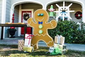 how to diy front yard gingerbread man home u0026 family hallmark
