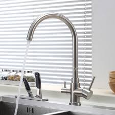 kitchen faucet stainless steel advanced stainless steel dual rotatable kitchen faucet for