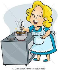 maman cuisine cuisine maman nourriture cuisine illustration femme