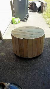 diy pallets and cable spool made armchair pallet wood projects