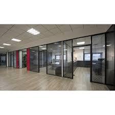 bureau vitre cloison vitree gallery of cloisons vitres toutes hauteurs with