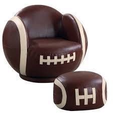 Walmart Chair And Ottoman Alcott Hill Tiemann Football Kids Novelty Chair And Ottoman