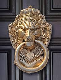 lion door knocker souvnear 6 lion door knocker with hardware item on sale large