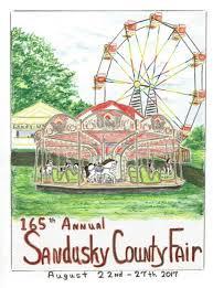 Ohio State Fair Map by Sandusky County Fair U2013 Fremont Ohio