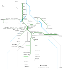Darmstadt Germany Map by Augsburg Tram Map For Free Download Map Of Augsburg Tramway Network