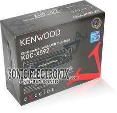 kenwood kdc x592 kdcx592 cd mp3 wma receiver with remote and