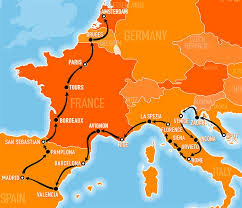 East West Germany Map by Explore Europe With The Busabout Hop On Hop Off Coach Pass