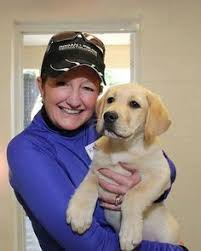 Training A Guide Dog For The Blind Guide Dog In Training Jerni Is Ready To Work Www Guidedogs Org