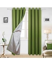 Blackout Kitchen Curtains Bargains On Deconovo Blackout Curtains With Silver