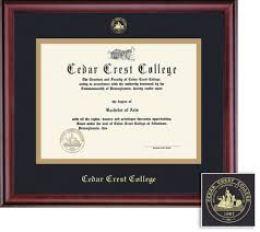 college diploma frame cedar crest college bookstore framing success classic