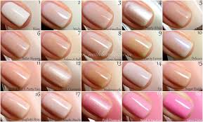 opi light pink nail polish names nails gallery