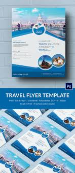 travel and tourism brochure templates free free 40 travel flyer templates indiater