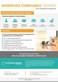 workplace compliance training business embassy australia