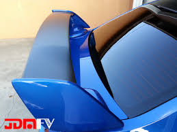 subaru roof spoiler precut center wing insert overlay wrap 11 14 sti jdmfv by