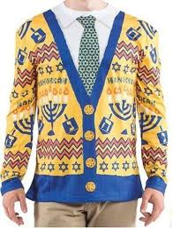 hanukkah sweater faux hanukkah sweater cardigan mens