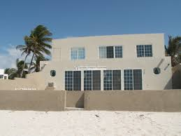 massive beach house walled and gated in chelem reduced