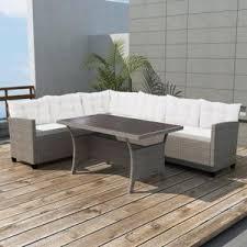 canapé d angle de jardin canape en angle de jardin achat vente pas cher