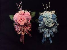 Baby Sock Corsage Baby Sock Rose Corsage Decorative Rattle Boy By Babyblossomgifts