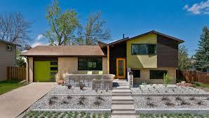pretty split level house designs midcentury exterior denver